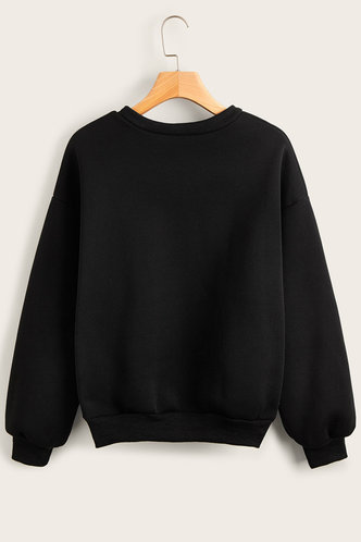 back_Zona Black Sweatshirt