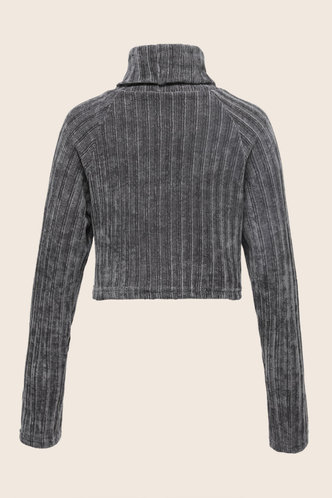 back_Petunia  Light Grey  Sweater