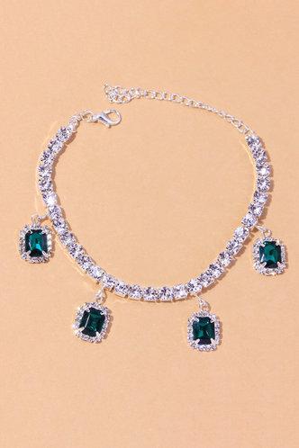 back_Casual Rainstone Silver Body Jewelry