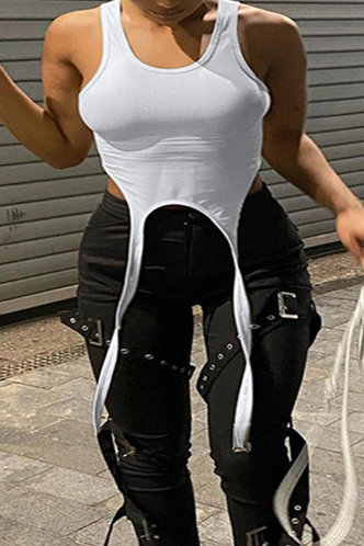 front_Beverly Emma White Plus Crop Top