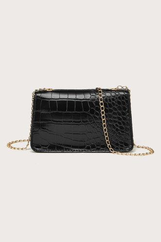 back_Nell Elsa Black Crossbody Bag