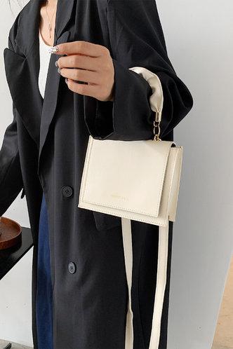 back_Flora Ella White Satchel Bag