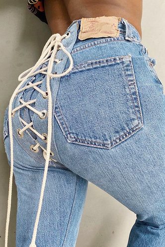 back_Carmen Light Wash Lace-Up Jeans