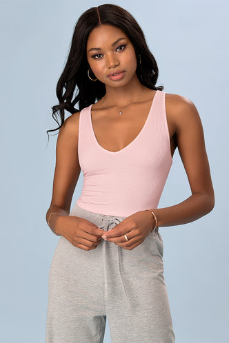front_My Oh My Blush Top