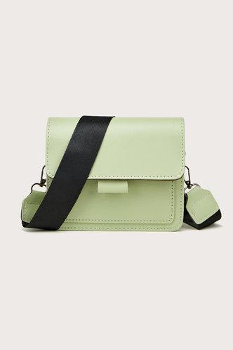 front_Kimberly Elsa Mint Green Crossbody Bag