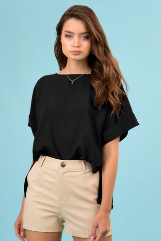 front_My Everything Black Top