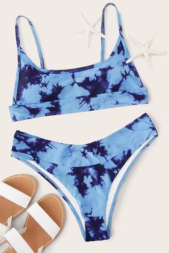 back_Meredith Elaine Blue Bikini