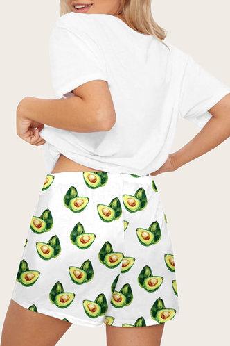 back_Deborah Marban White Loungewear Set