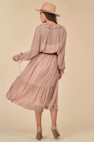 back_Feel the Flow Dusty Rose Maxi Dress