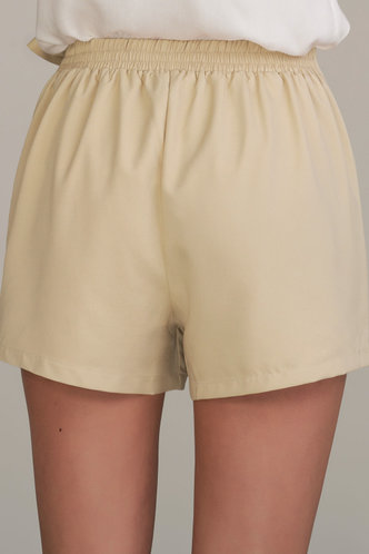 back_My Girl Apricot Shorts