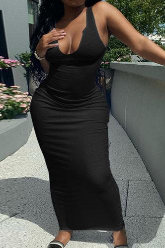 front_Athena Erica Black Plus Bodycon Dress
