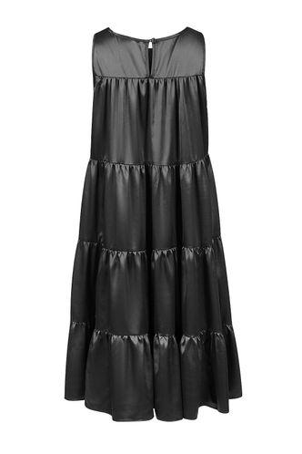 back_Make Me Whole Black Mini Dress