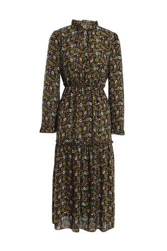 front_Playin' Hooky Multicolor Floral Print Dress