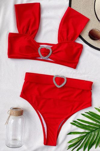 back_Anna Karlan Red Bikini