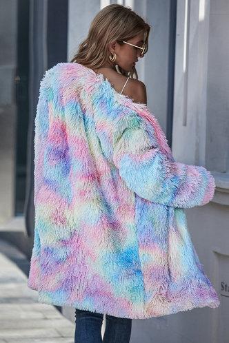 back_Ellie Multicolor Longline Coat