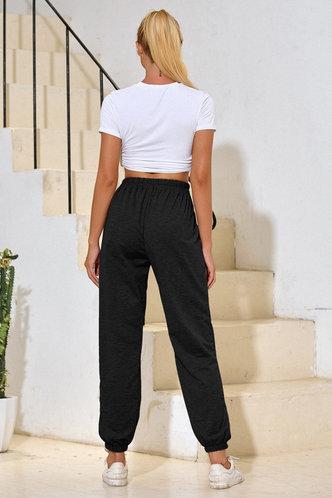 back_Malak Black Sweatpants