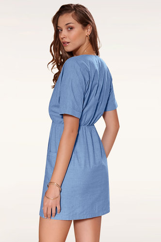 back_Somewhere with You {Color} Mini Dress