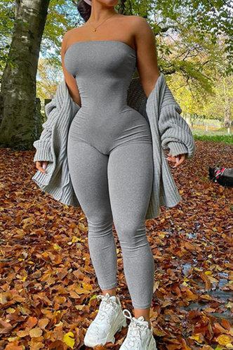 front_Gay Eden Light Grey Jumpsuit