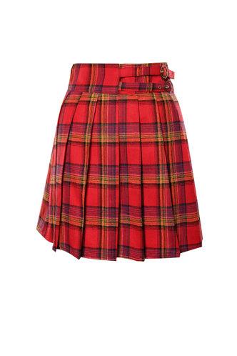 front_Totally Tartan {color} Skirt