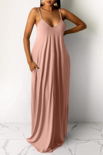 front_Jean Elva Pink Dress