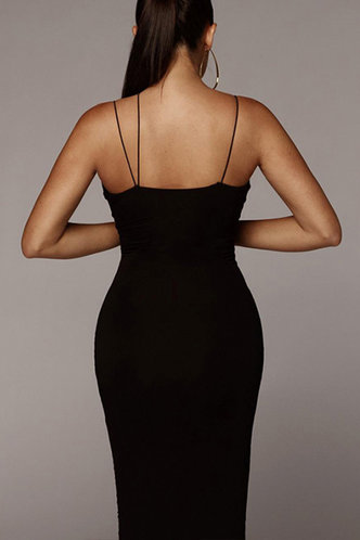 back_Bella Eileen Black Bodycon Dress