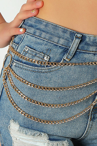 back_Buena Elma Gold Layered Pant Chain