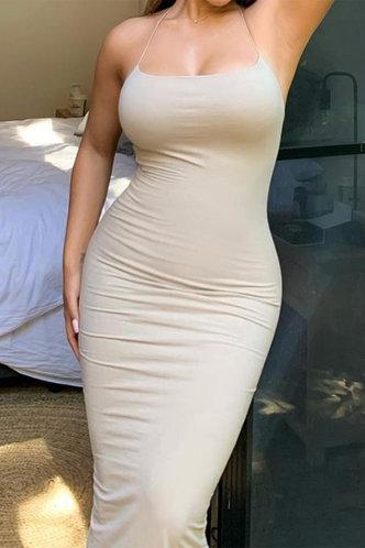 front_Lena Elvira Nude Cami Bodycon Dress