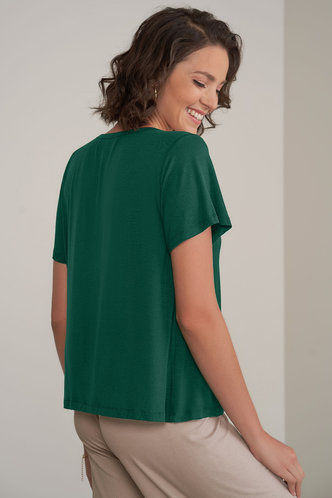 back_Joy and Bliss {Color} Short Sleeve Top