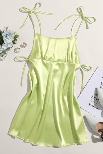 back_Udit Mint Green Slip Dress