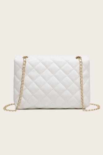 back_Thalia Erica White Crossbody Bag