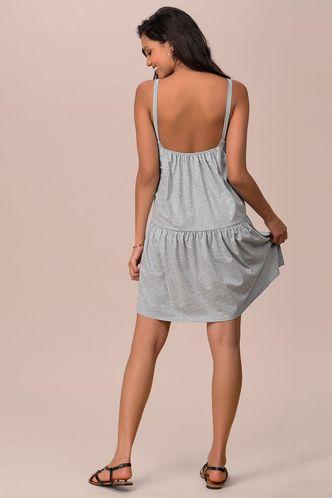 back_Hype Dream Grey Mini Dress