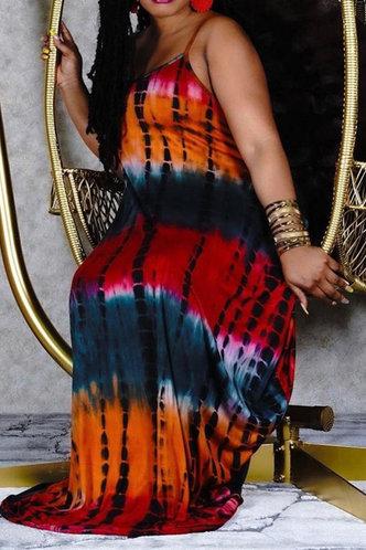 back_Hannah Kudril Tie Dye Plus Cami Dress