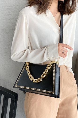 back_Cori Emily Black Shoulder Bag