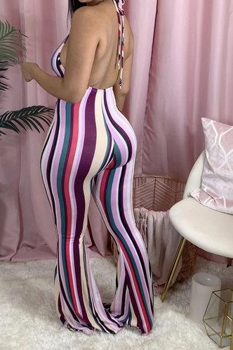 back_Diana Korjas Striped Jumpsuit