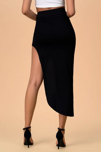 back_Endless Elegance Black Skirt