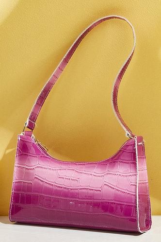 back_Eve Gust Purple Shoulder Bag