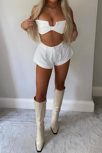 front_Berenice Enid White Tube Top