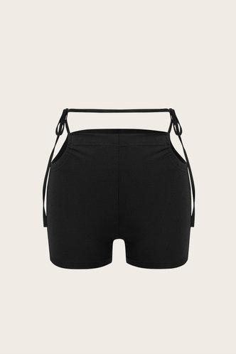 back_Blythe Elvira Black Shorts