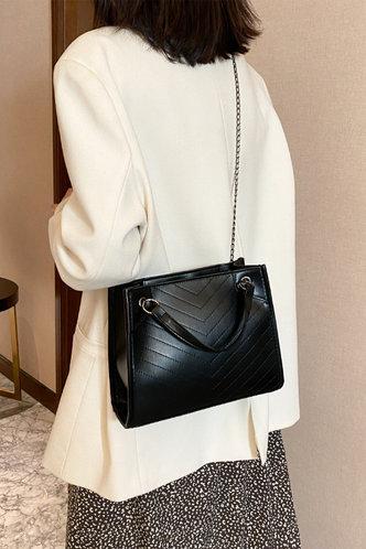 back_Corinne Emma Black Shoulder Bag