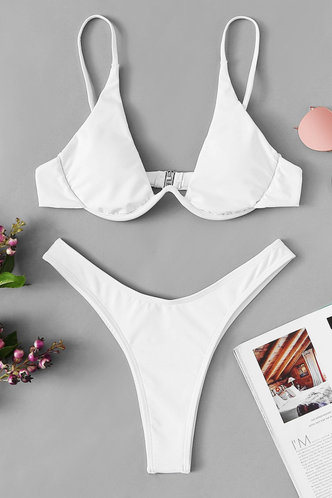 front_Ana Elaine White Bikini
