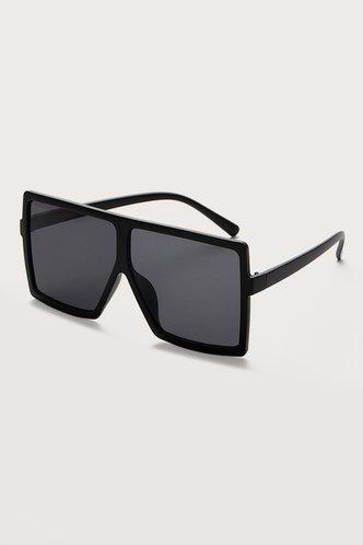 back_Summer Elizabeth Grey Square Frame Sunglasses