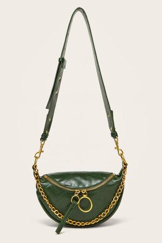front_Lynne Elsie Emerald Green Crossbody Bag