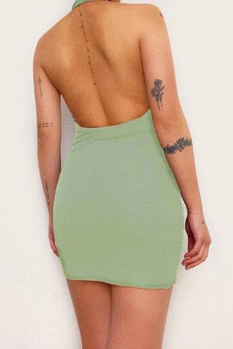 back_Lynne Eve Sage Green Dress