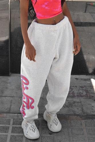 back_Candace Eunice Light Grey Sweatpants