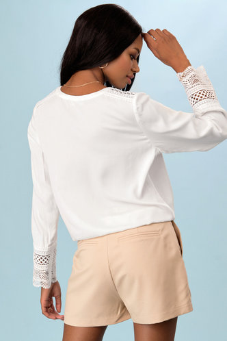 back_Celebrate Life White Long Sleeve Top