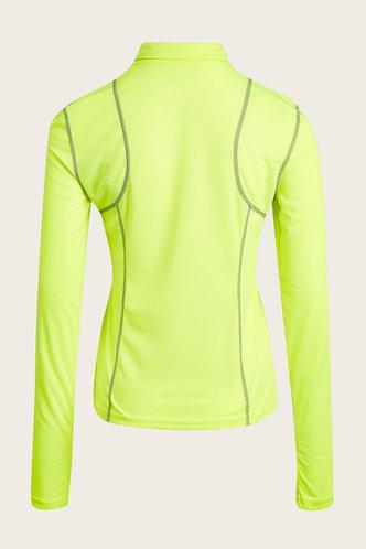 back_Lela Neon Activewear Top