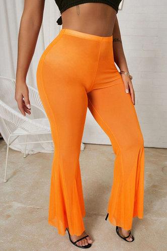 front_Alfy Esther Orange Pants