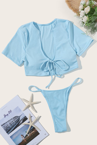 back_Bonita Eileen Mint Green Bikini