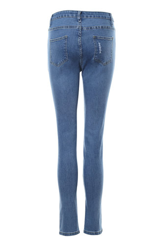 back_City Lights Blue Skinny Jeans