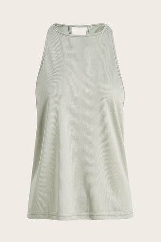 front_Vera Grey Activewear Top